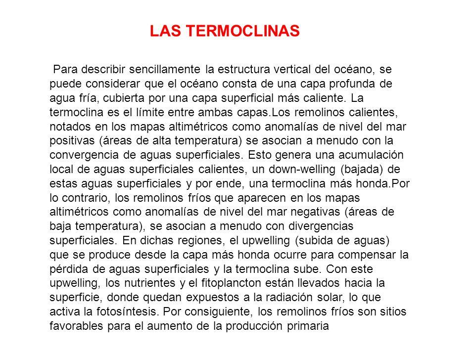LAS TERMOCLINAS