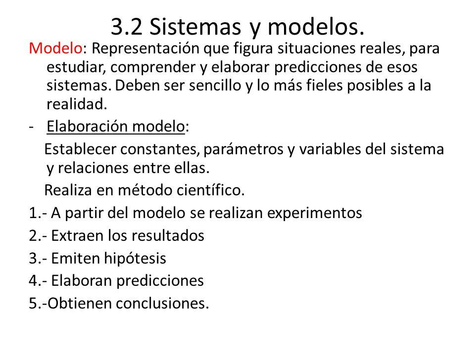 3.2 Sistemas y modelos.