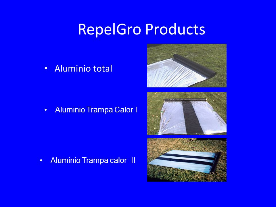 RepelGro Products Aluminio total Aluminio Trampa Calor I