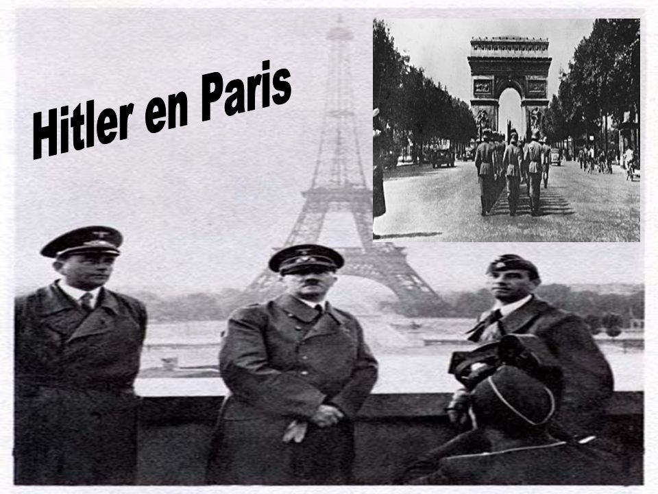 Hitler en Paris