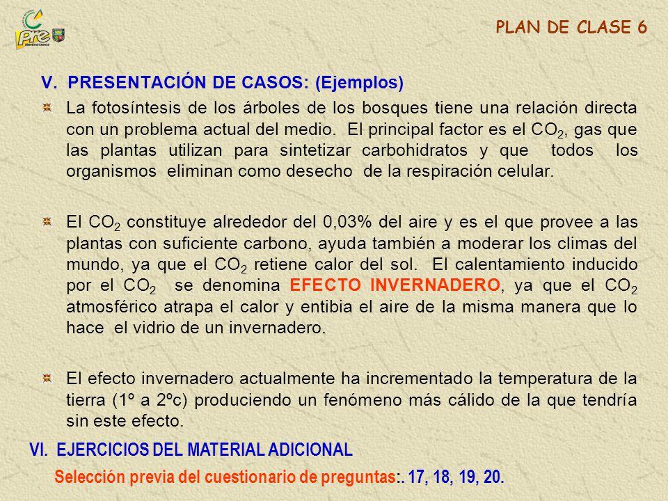 VI. EJERCICIOS DEL MATERIAL ADICIONAL