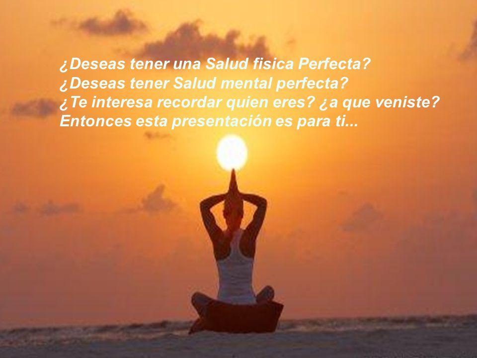 SOÑÉ con ser un ANGEL ¿Deseas tener una Salud fisica Perfecta