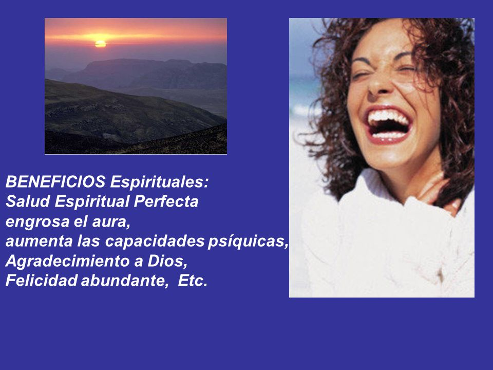 BENEFICIOS Espirituales: