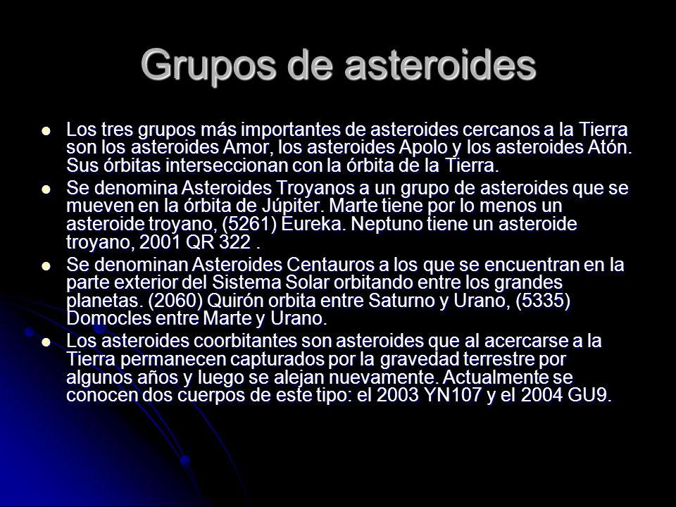 Grupos de asteroides