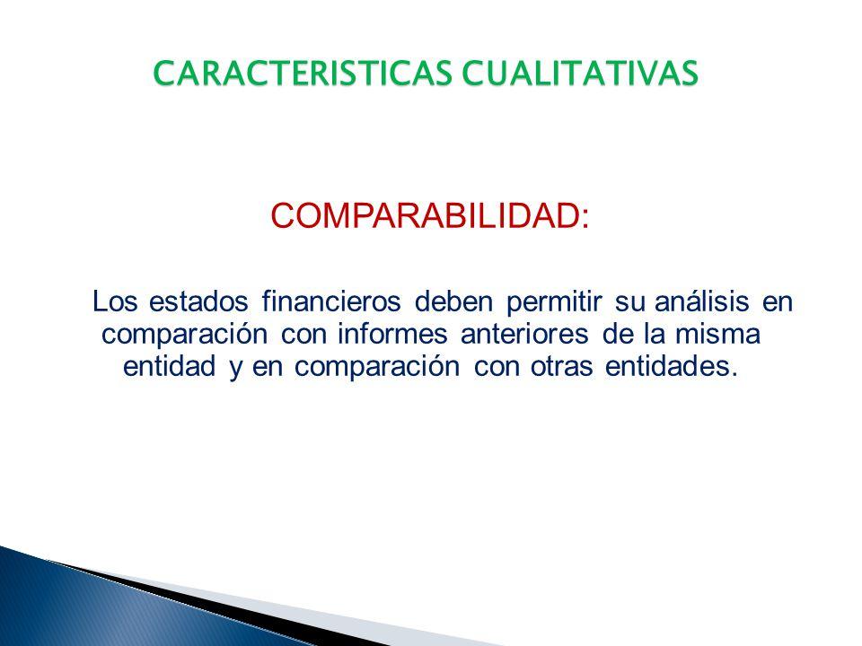CARACTERISTICAS CUALITATIVAS