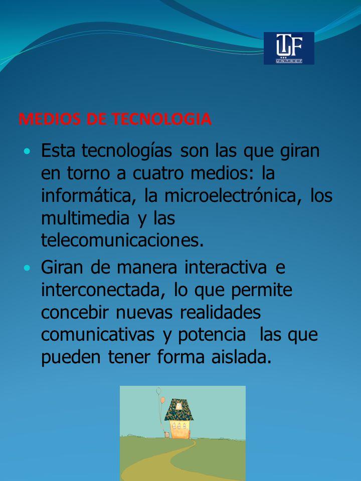 MEDIOS DE TECNOLOGIA