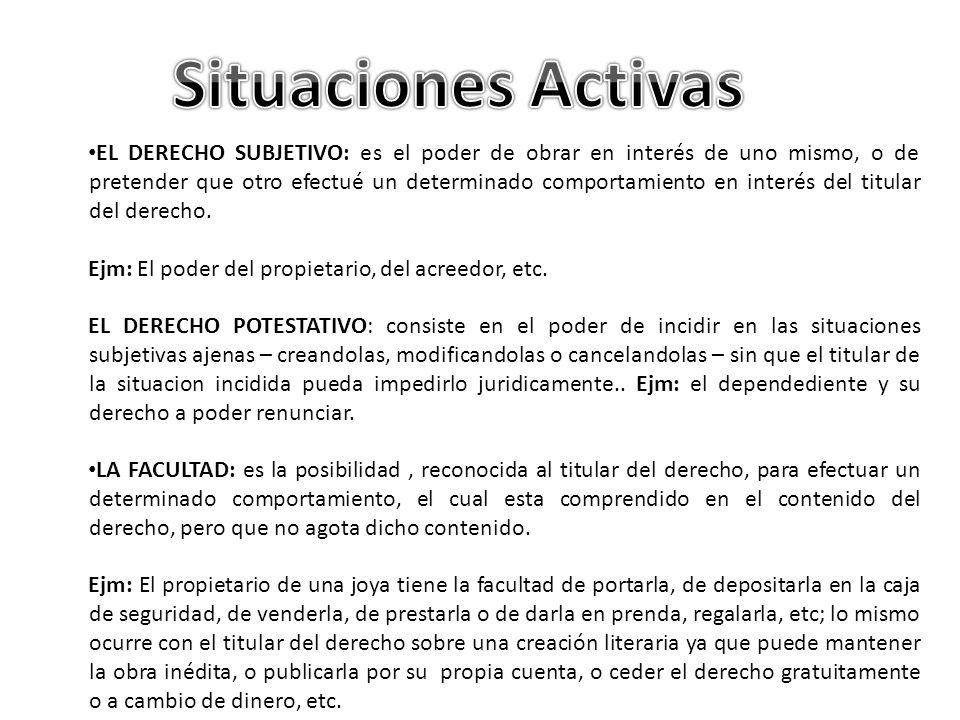Situaciones Activas