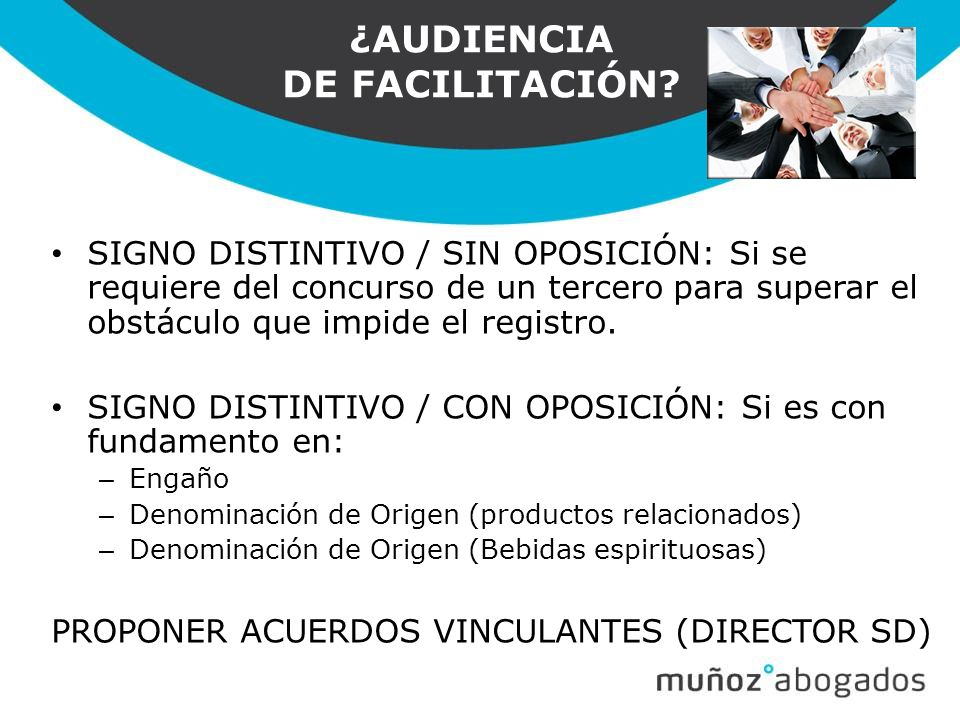¿AUDIENCIA DE FACILITACIÓN