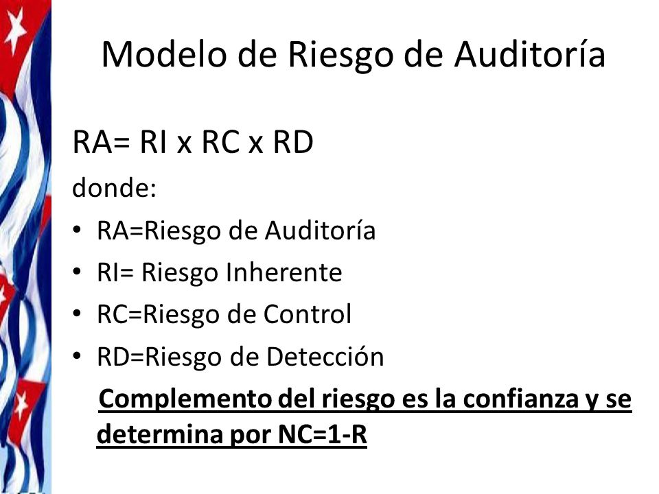 Modelo de Riesgo de Auditoría