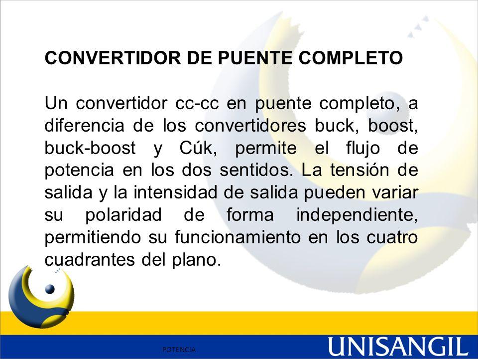 CONVERTIDOR DE PUENTE COMPLETO