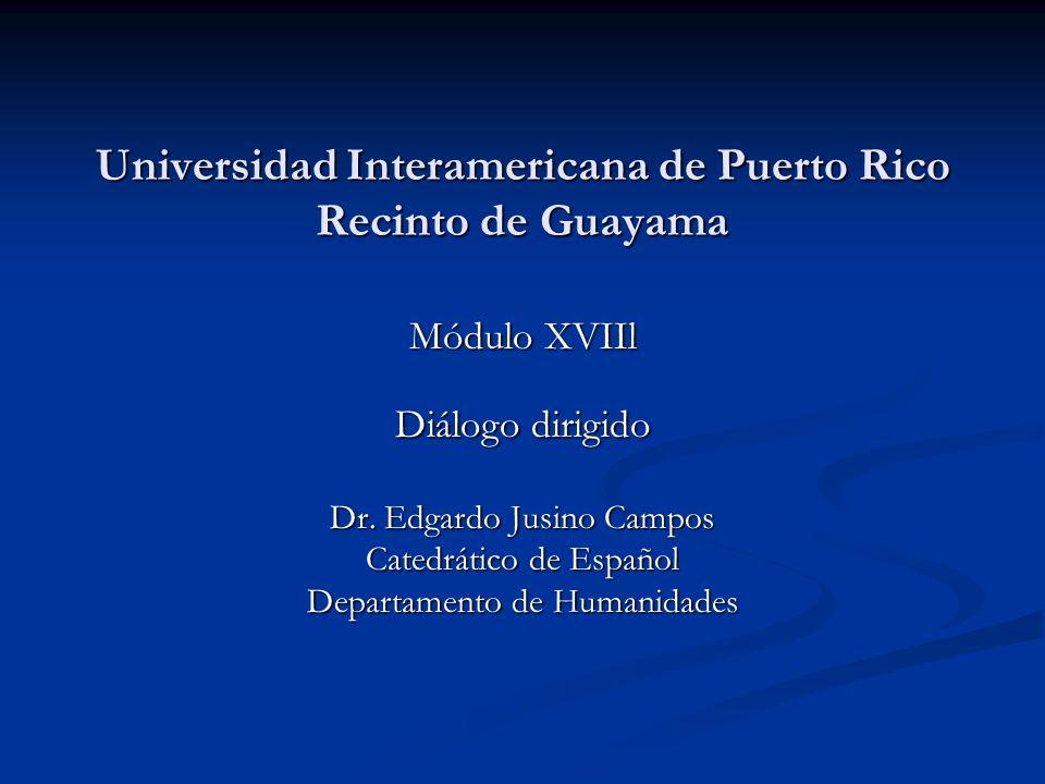 Universidad Interamericana de Puerto Rico Recinto de Guayama