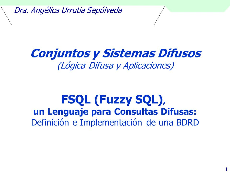 Dra. Angélica Urrutia Sepúlveda