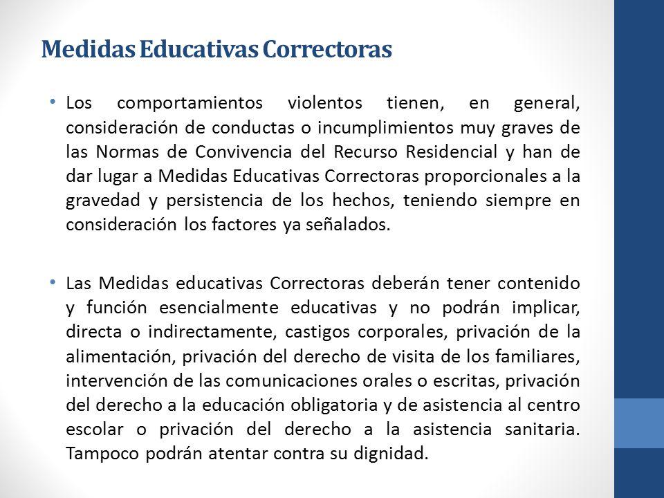 Medidas Educativas Correctoras