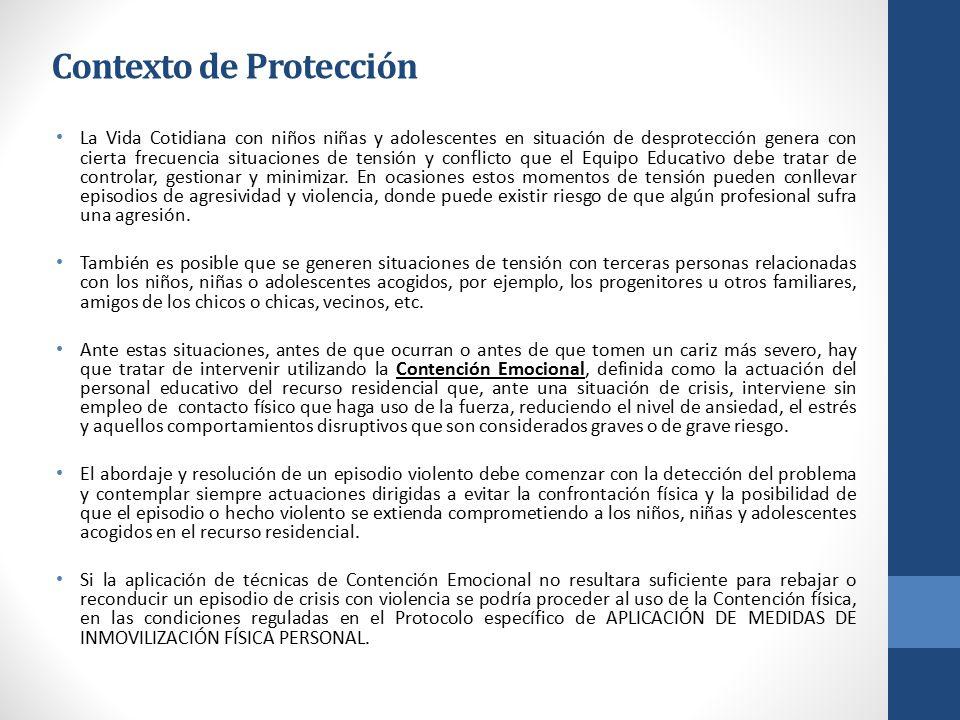 Contexto de Protección