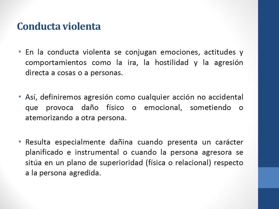 Conducta violenta