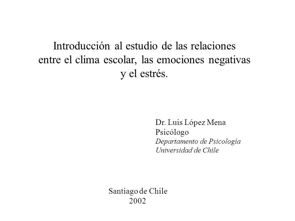 Introducción al estudio de las relaciones