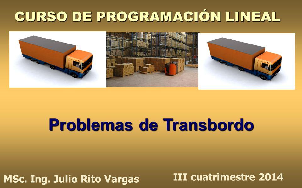 CURSO DE PROGRAMACIÓN LINEAL