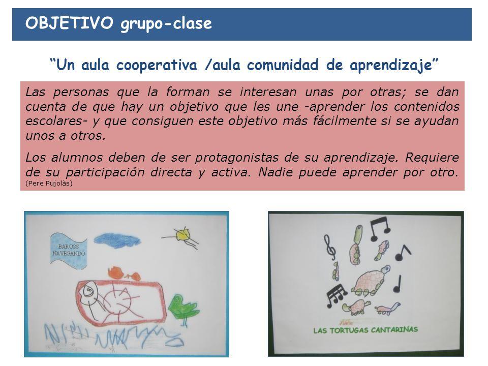 Un aula cooperativa /aula comunidad de aprendizaje
