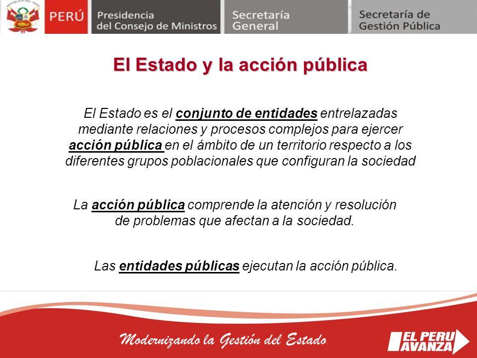 El Estado y la acción pública