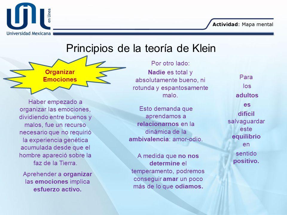 Principios de la teoría de Klein