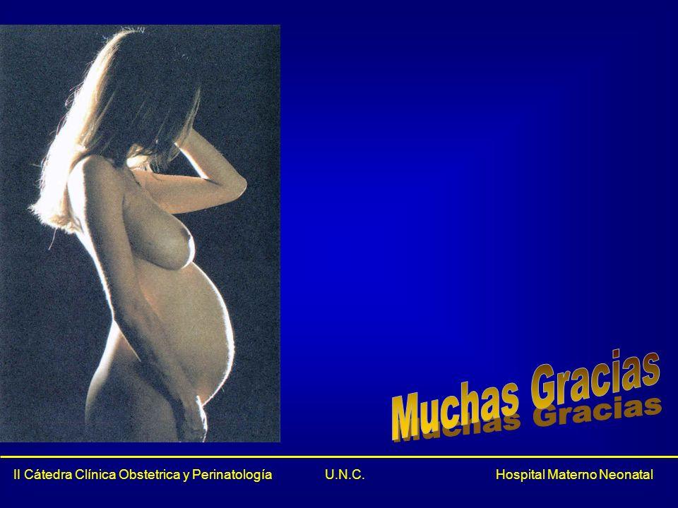 Muchas Gracias II Cátedra Clínica Obstetrica y Perinatología U.N.C.