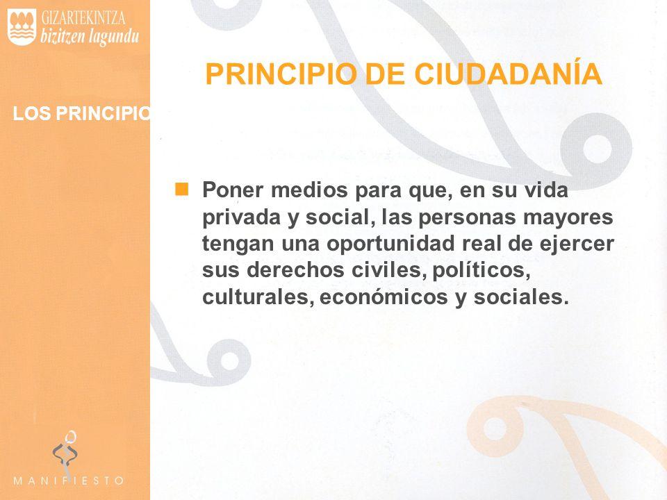 PRINCIPIO DE CIUDADANÍA