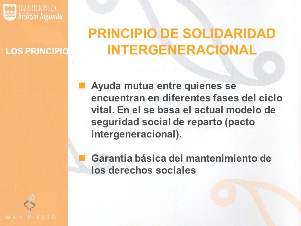 PRINCIPIO DE SOLIDARIDAD