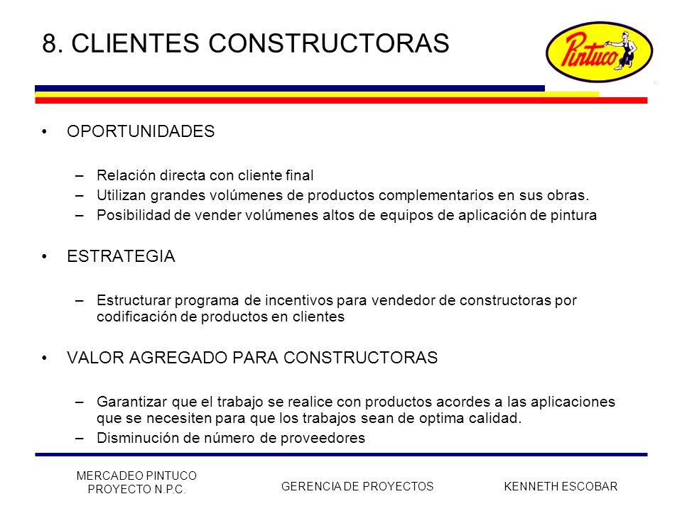 8. CLIENTES CONSTRUCTORAS