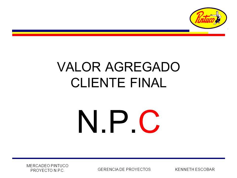 VALOR AGREGADO CLIENTE FINAL