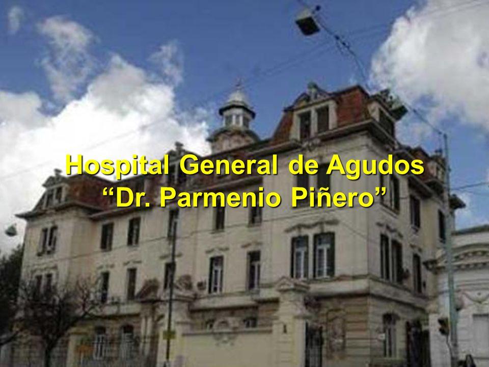 Hospital General de Agudos Dr. Parmenio Piñero