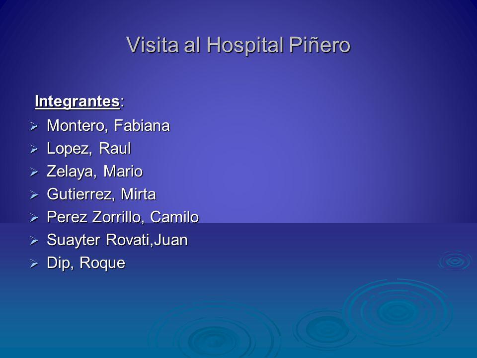 Visita al Hospital Piñero