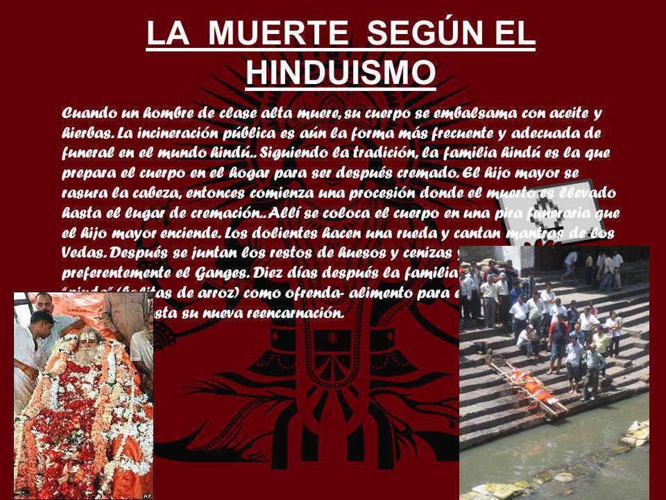 LA MUERTE SEGÚN EL HINDUISMO