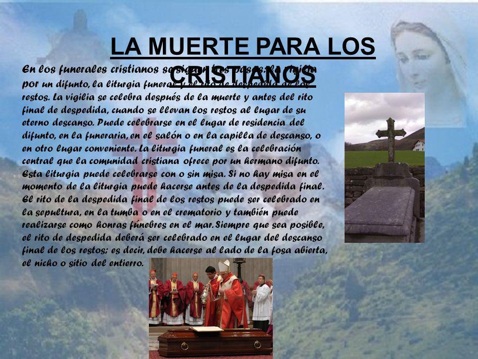LA MUERTE PARA LOS CRISTIANOS