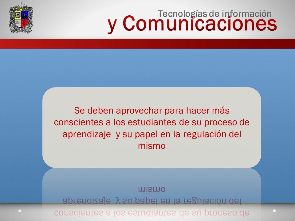 y Comunicaciones Tecnologías de información