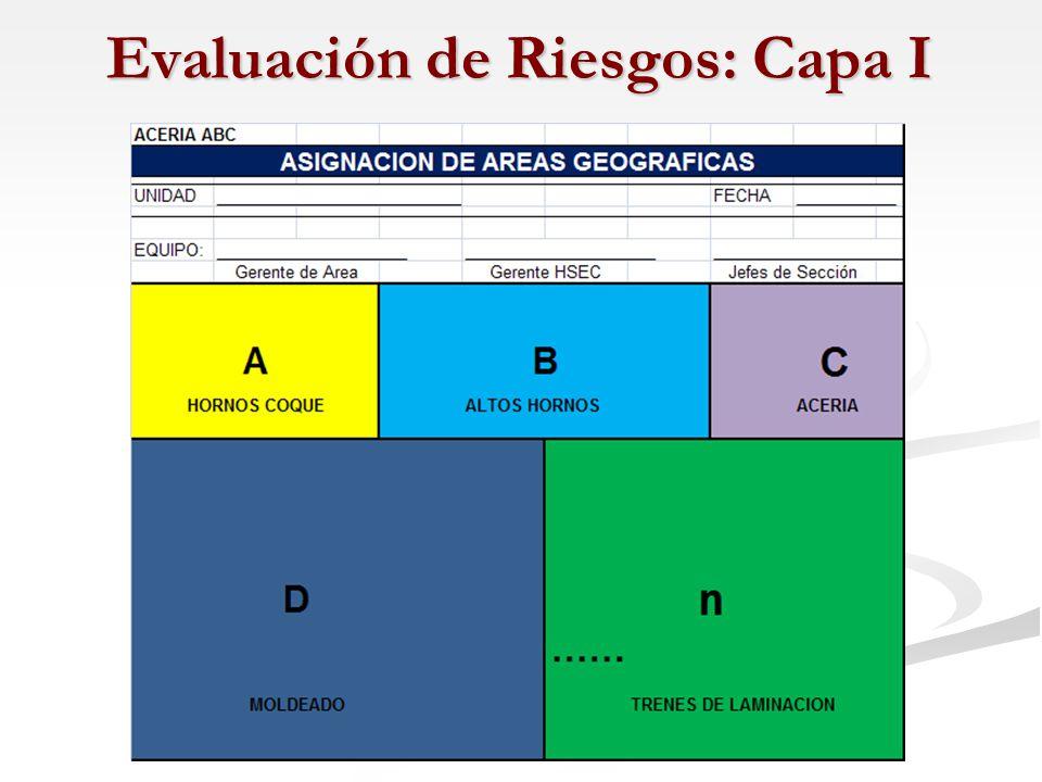 Evaluación de Riesgos: Capa I