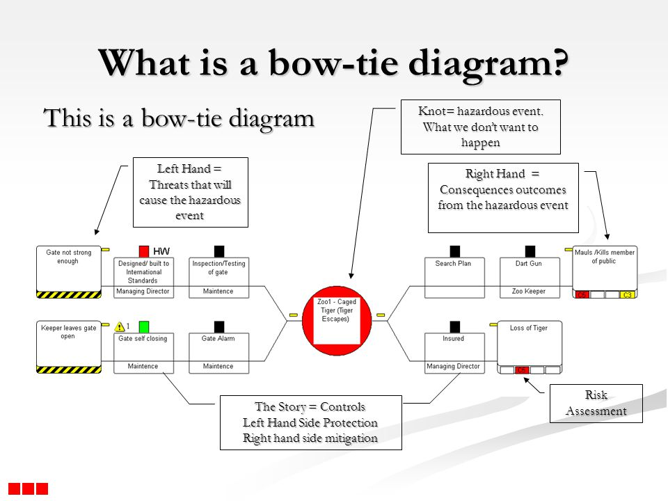 What is a bow-tie diagram
