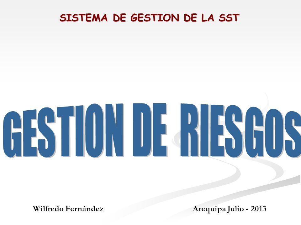 SISTEMA DE GESTION DE LA SST