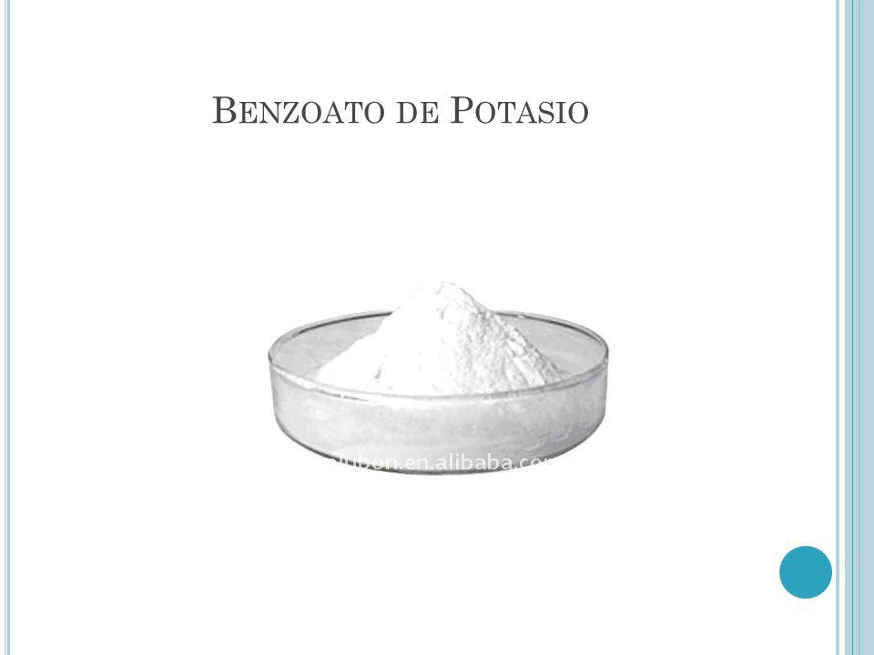 Benzoato de Potasio