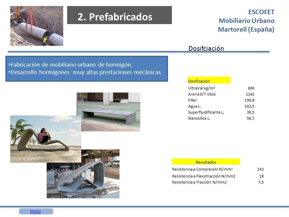 2. Prefabricados ESCOFET Mobiliario Urbano Martorell (España)
