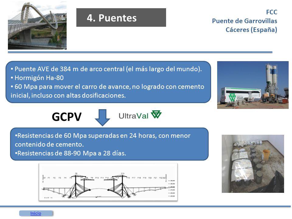 GCPV 4. Puentes FCC Puente de Garrovillas Cáceres (España)