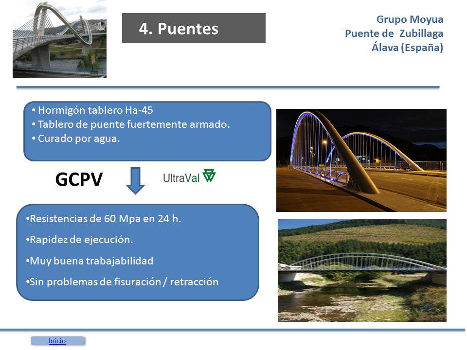 GCPV 4. Puentes Grupo Moyua Puente de Zubillaga Álava (España)