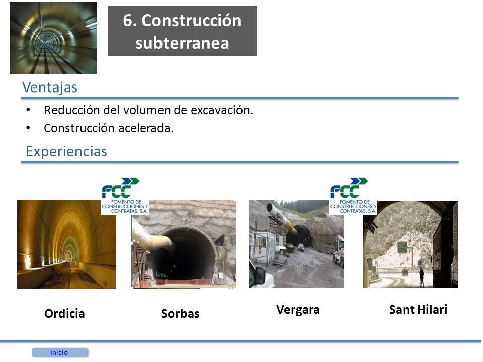6. Construcción subterranea