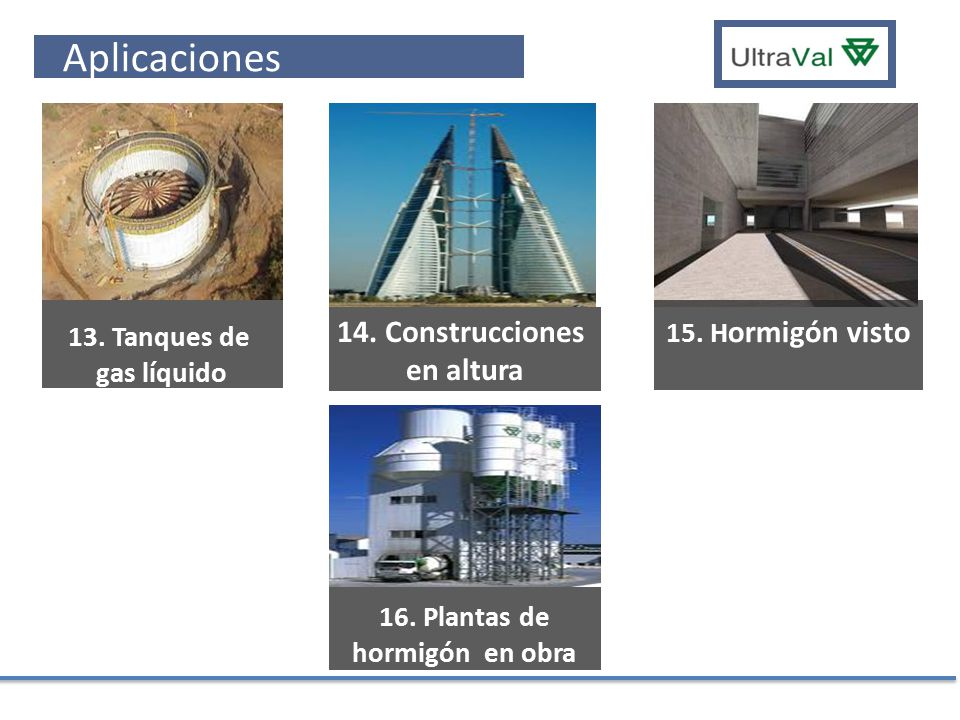 16. Plantas de hormigón en obra site