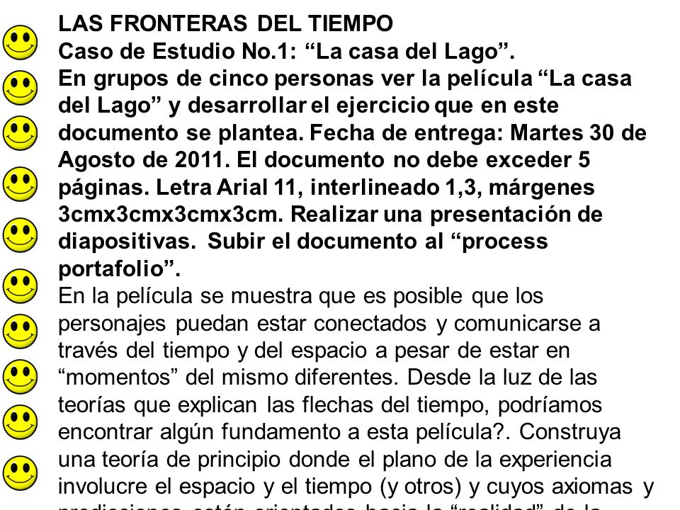 LAS FRONTERAS DEL TIEMPO