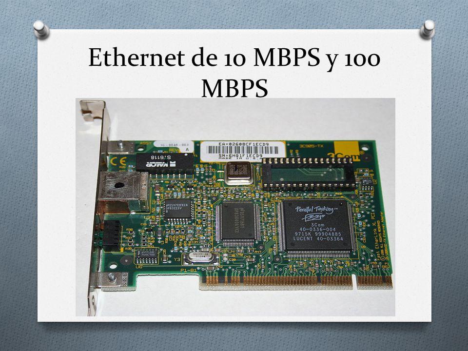 Ethernet de 10 MBPS y 100 MBPS