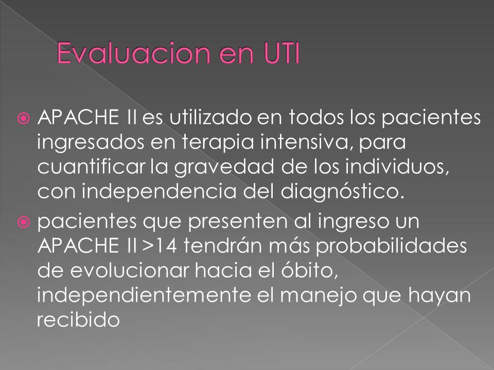 Evaluacion en UTI