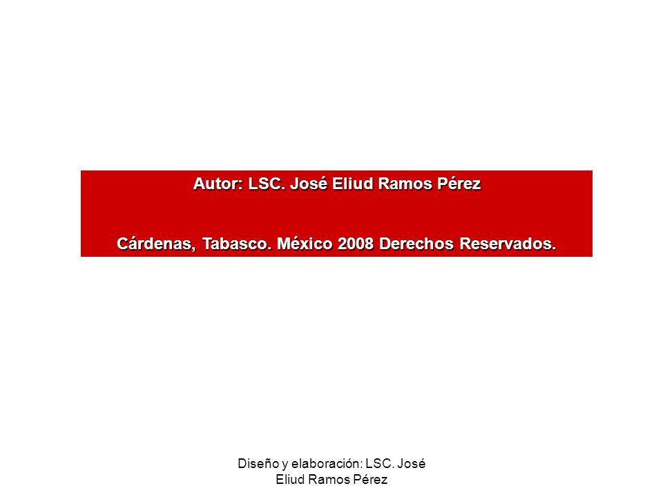 Autor: LSC. José Eliud Ramos Pérez