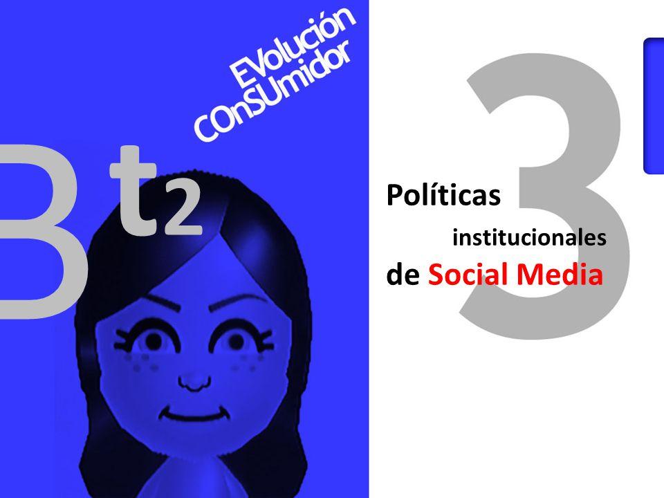 B t2 Políticas institucionales de Social Media