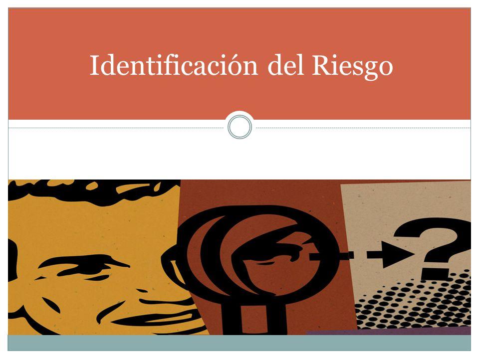 Identificación del Riesgo