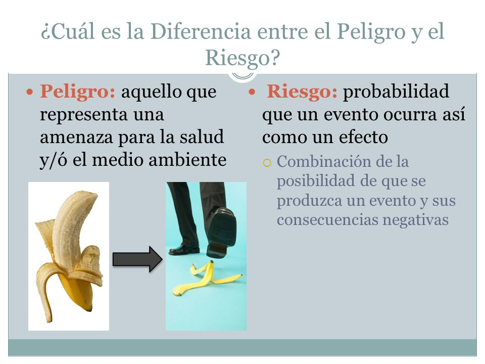 ¿Cuál es la Diferencia entre el Peligro y el Riesgo